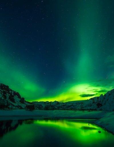 iceland, aurora borealis, northern lights
